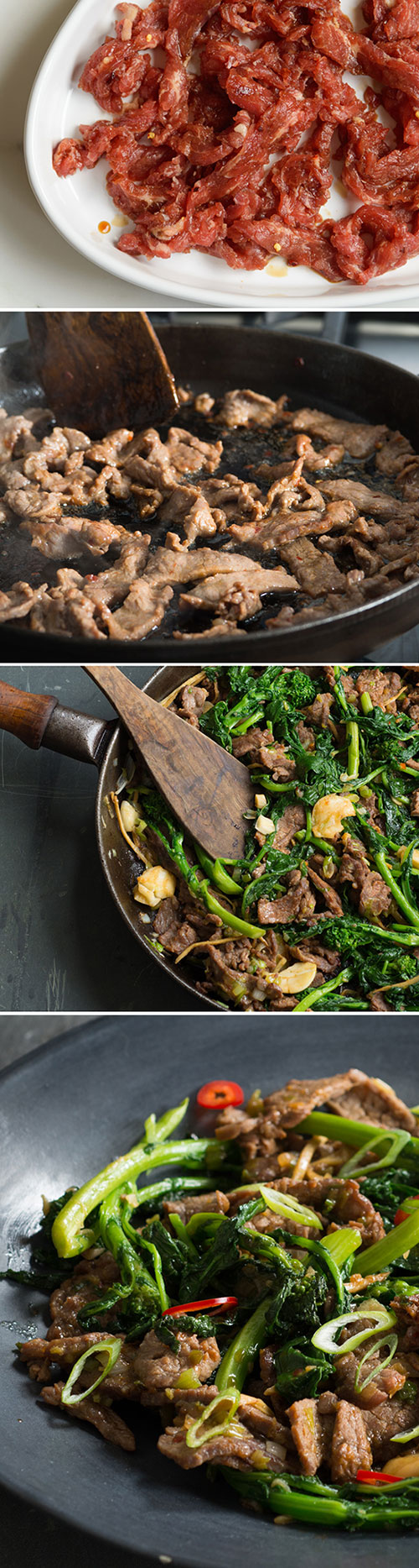 Beef and broccoli rabe quick fry andy boy ab pinterest quickfry forumfinder Choice Image