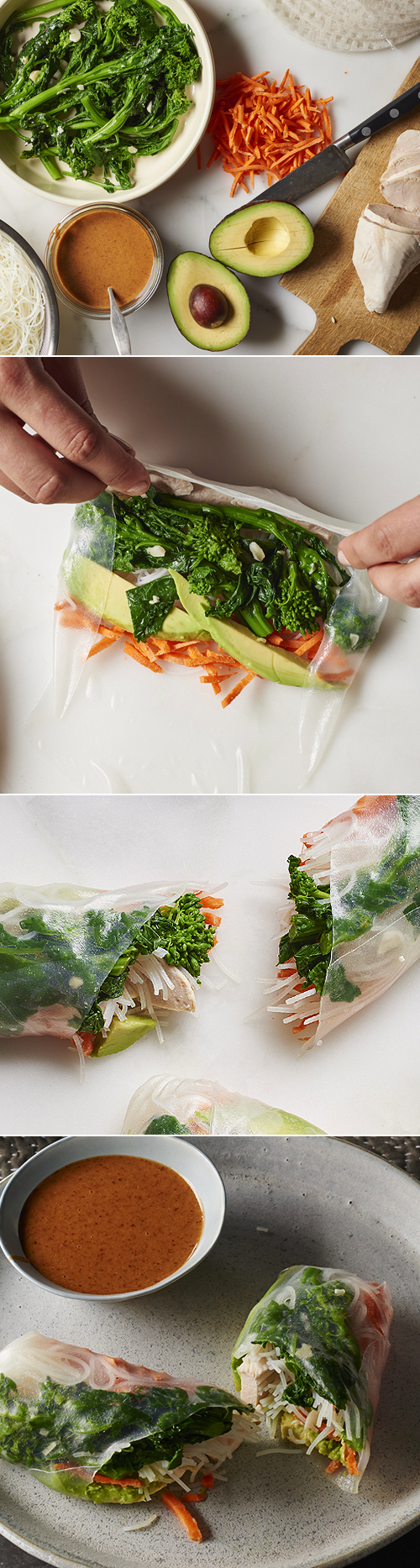 Andy Boy Broccoli Rabe Salad Rolls