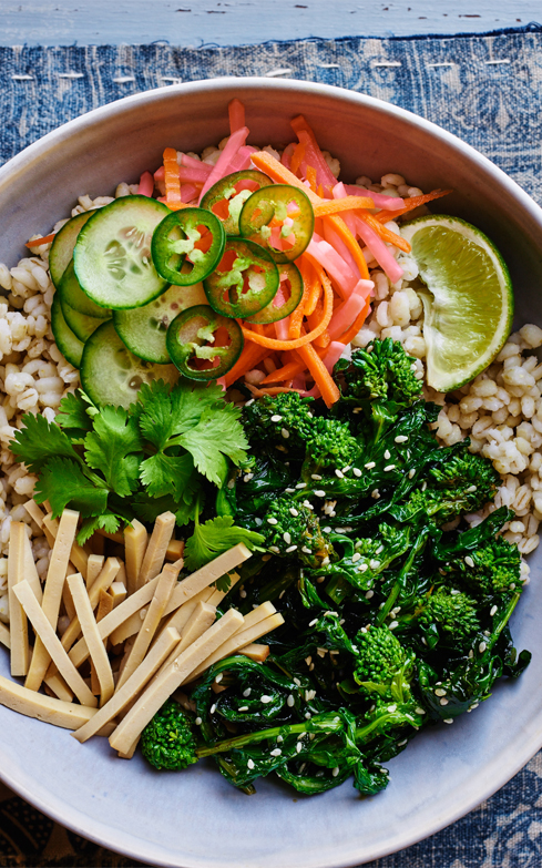 Banh Mi Broccoli Rabe Bowl