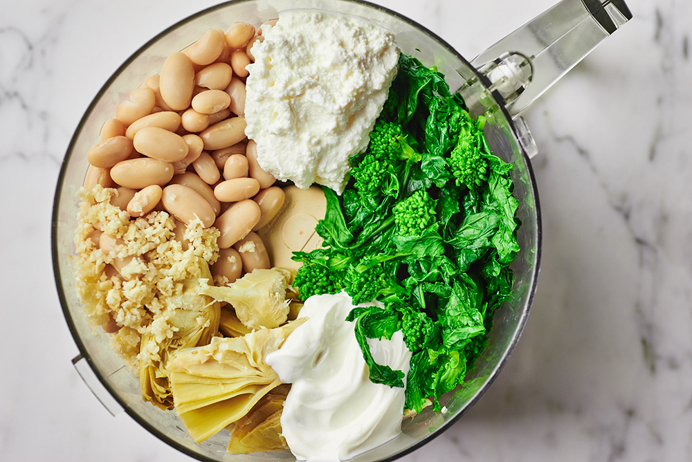 Warm Artichoke Dip Ingredients