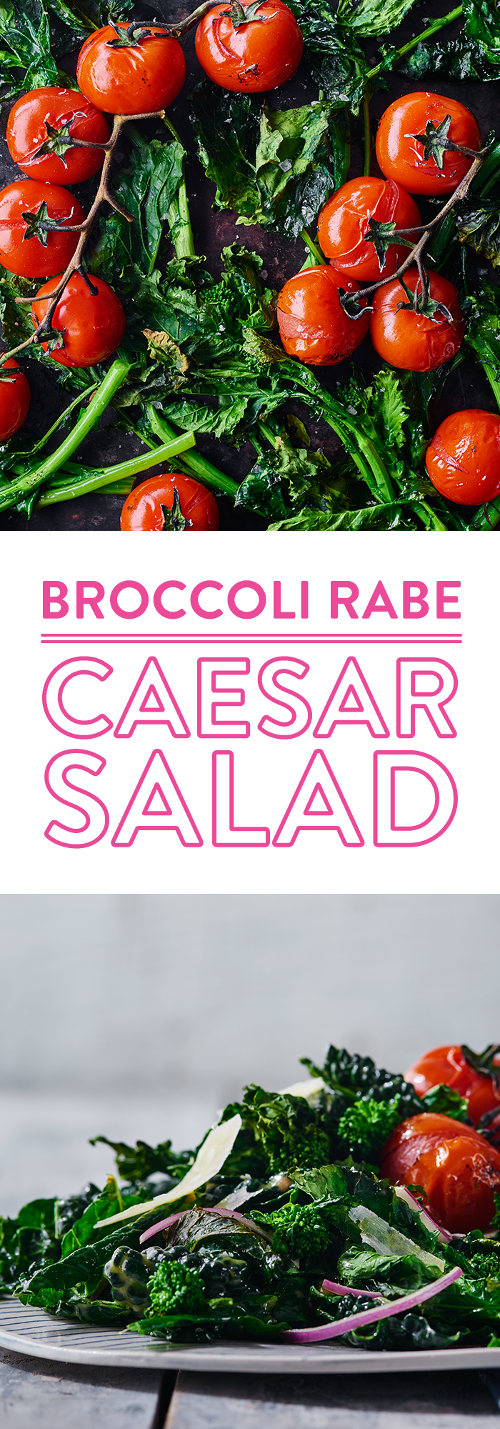 Broccoli Rabe Caesar Salad