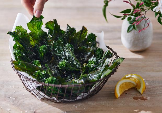 Broccoli Rabe Chips