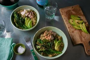 roasted-chicken-broccoli-rabe-bowl