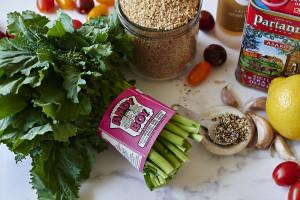 ingredients-bulgar-wheat-broccoil-rabe