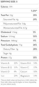 nutritional-facts-broccoli-rabe-arancini-marinara-sauce