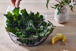 Broccoli-Rabe-Chips