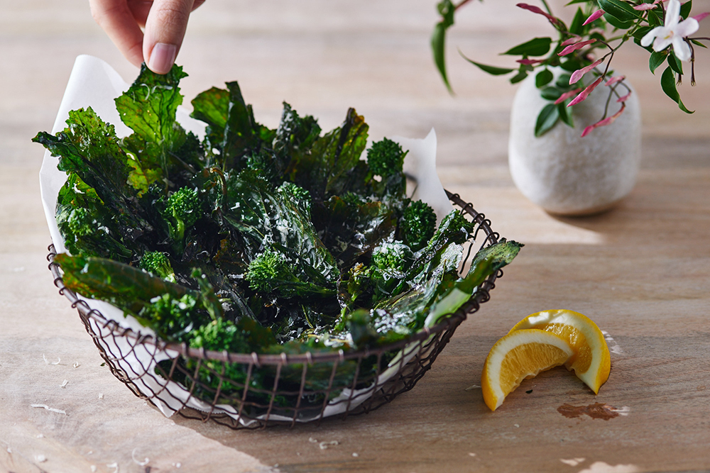 Broccoli Rabe Chips