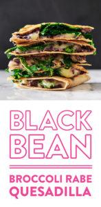 broccoli-rabe-bleack-bean-monterey-jack-quesadilla-andy-boy