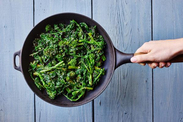 cooking-process-banh-mi-bowl-broccoli-rabe