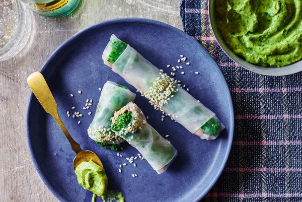 broccoli-rabe-sesame-spring-rolls-andy-boy