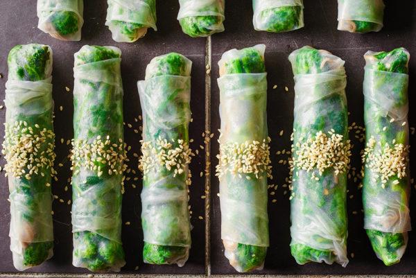 sesame-garlic-broccoli-rabe-spring-rolls-andy-boy