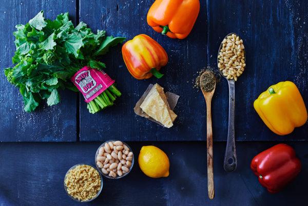 ingredients-stuffed-bell-peppers-pine-nut-garlic-andy-boy