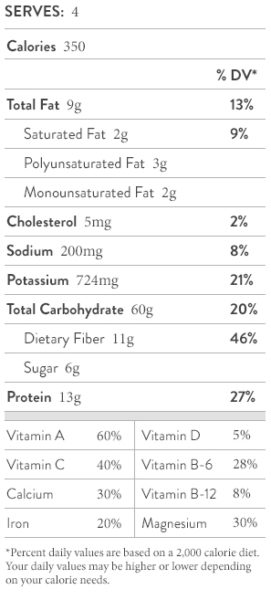 nutrition-facts-shiitake-penne-pasta-broccoli-rabe