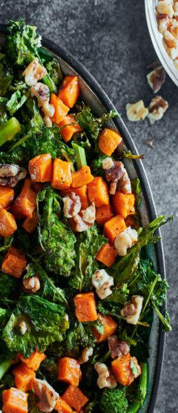 roasted-sweet-potato-rabe-salad