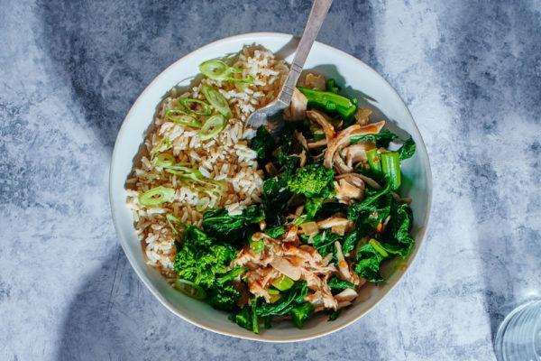 teriyaki-chicken-broccoli-rabe-crockpot