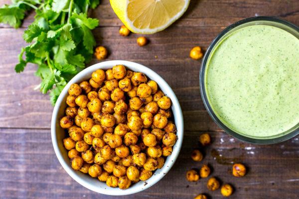 broccoli-rabe-buddha-bowls-cilantro-tahini-dressing