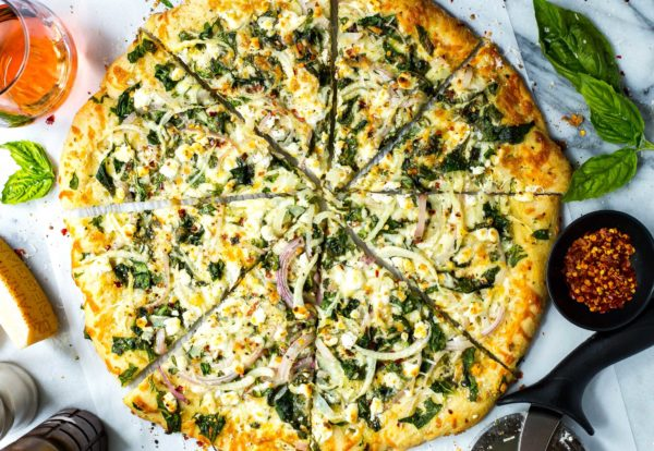 spinach-goat-cheese-pizza