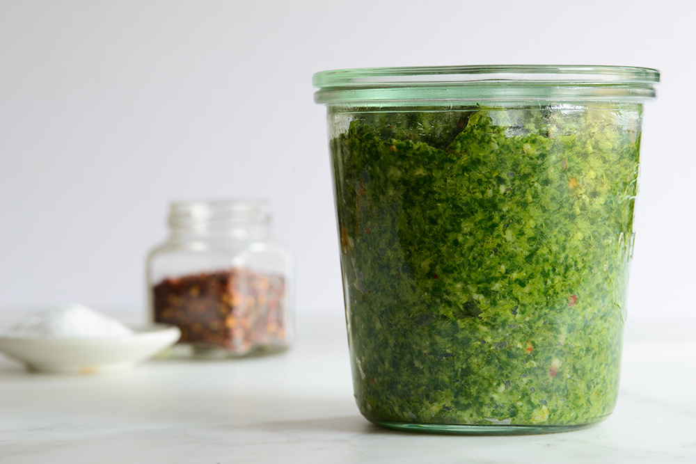 Broccoli Rabe Pesto