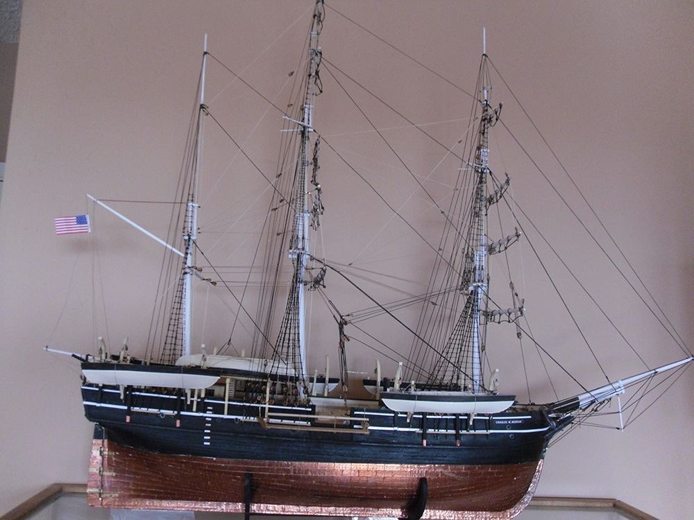 Andy Enjoys Making Historically Accurate, To Scale, Model Ships.
