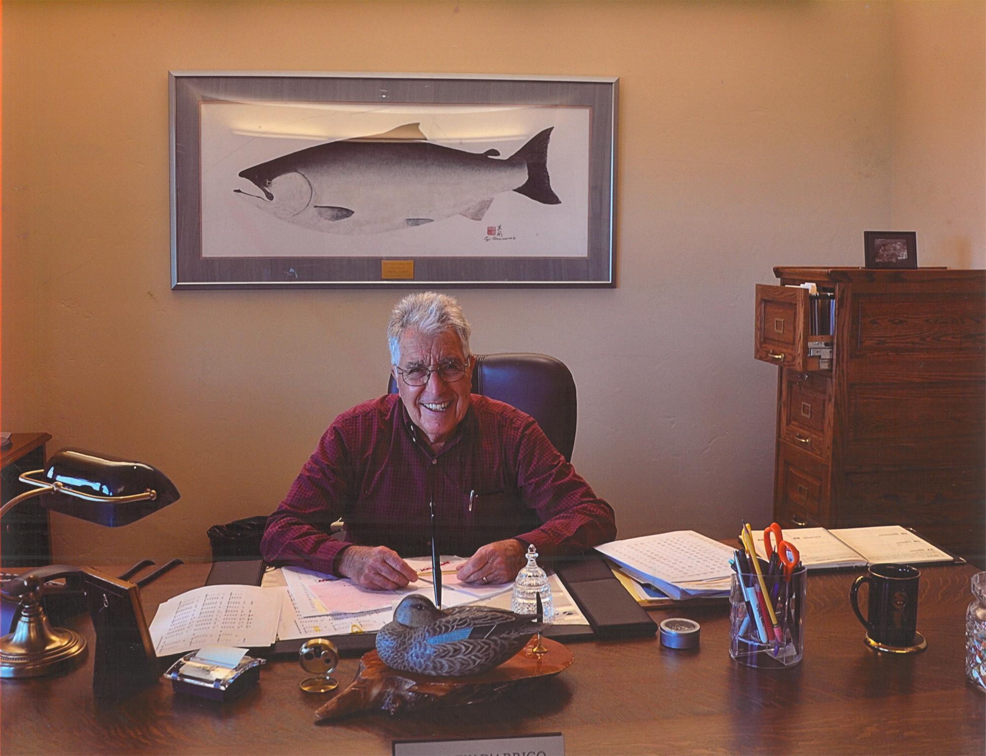 Andy in his office at D'Arrigo California's Headquarters